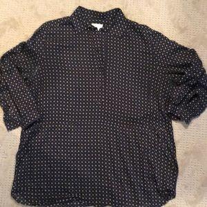 Billy Reid pullover blouse